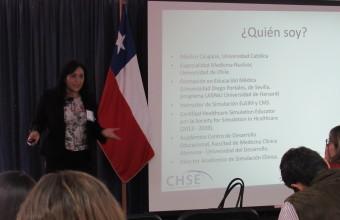 Doctora Armijo en V jornadas internacionales de docencia en habilidades clínicas