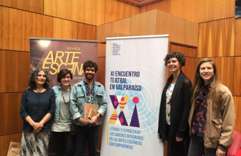 CDE participa en mesa de teatro aplicado en salud en el XI Encuentro Teatral de Valparaíso