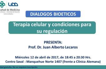 Terapia celular y condiciones para su regulación en un nuevo Diálogo Bioético