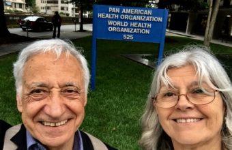 Académicos UDD visitan Oficina Regional para las Américas de la OMS en Washington