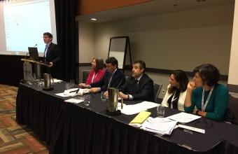Doctora Aguilera expone en simposio global de investigación sobre sistemas de salud