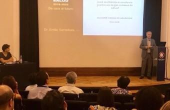 Directora del CEPS modera conversatorio sobre programa de salud del próximo gobierno de Chile