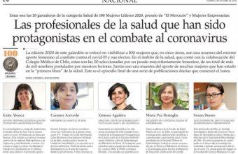 Directora del CEPS dentro de las 100 Mujeres Líderes 2020