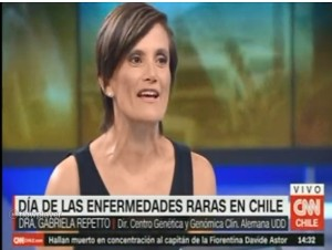 Dra. Repetto en CNN