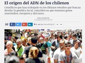El origen del ADN de los chilenos