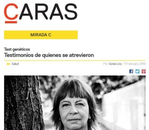 Revista Caras Dra. Repetto