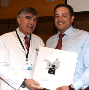 Premiación Juan Francisco Calderón
