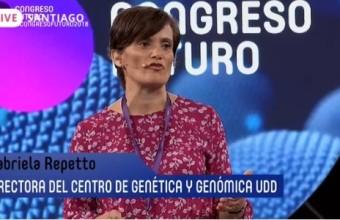 Directora del CGG expuso sobre enfermedades poco frecuentes en Congreso del Futuro 2018