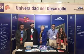 Investigador del CGG participa en feria de educación continua y postgrados en Ecuador