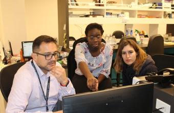 CGG recibe en sus laboratorios a estudiantes extranjeros