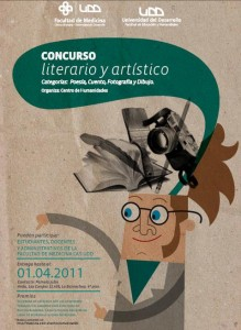 Afiche concurso art y liter 2011