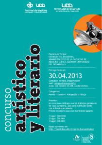 afiche concurso literario 2013