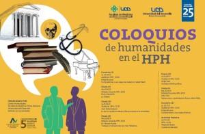 Afiche Coloquios de Humanidades