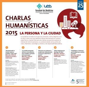 Afiches charlas humanísticas
