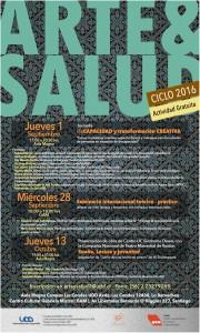 Afiche Arte y Salud