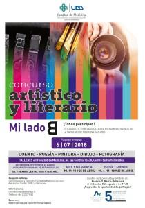 Afiche Concurso artistico y literario 2018