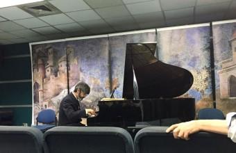Con concierto de piano se inician los Coloquios de Humanidades