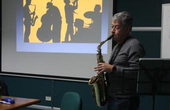 """""""Historia del Jazz y Blues"""" en los Coloquios de Humanidades"""
