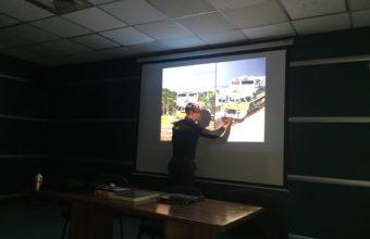 Interesante charla sobre el hobby del modelismo de trenes