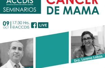 Dra. Lorena Lobos conversó sobre cáncer de mama en encuentro del ACCDiS