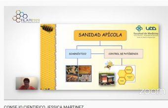 Investigadora UDD expuso en XIV Congreso Latinoamericano de Apicultura