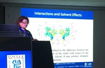 Investigadores del Centro de Química Médica participaron en Congreso Latinoamericano de Química Orgánica y Física