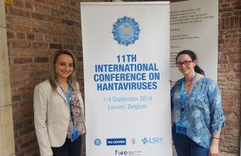 Investigadora y estudiante de doctorado del ICIM exponen en Conferencia Internacional de Hantavirus en Bélgica