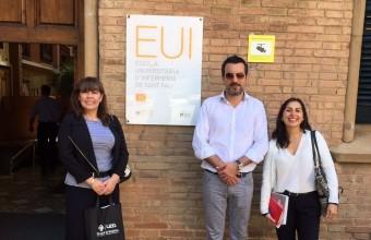 Enfermería UDD fortalece su trabajo con universidades españolas