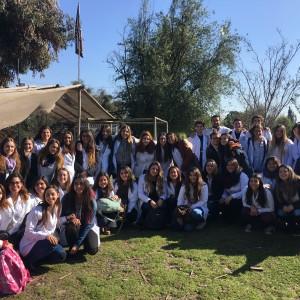 Estudiantes de enfermería visitan ruca Mapuche de La Pintana