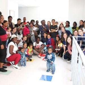 Exitoso diálogo participativo de migrantes en el HPH