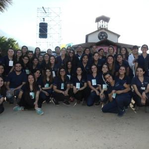 La carrera de enfermería lideró las atenciones de salud en la Caminata de Los Andes