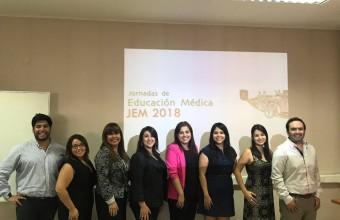 Carrera de enfermería participó en la Jornada de Educación Medica 2018