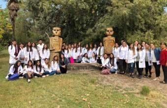 Estudiantes de enfermería visitan Programa de Salud Intercultural de la Comuna la Pintana