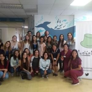 Alumnos de cuarto año de enfermería participan en voluntariado en Hospital Padre Hurtado