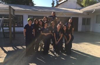 Carrera de enfermería realiza controles de salud escolar en Peumo