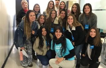 Docentes y alumnos de enfermería participan en desafíos de la Semana i
