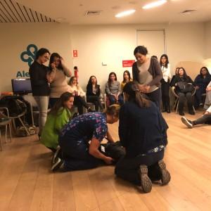 Carrera de enfermería participan en curso de Formación en Tutoría Clínica