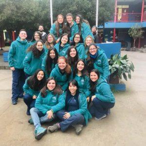 Alumnos de enfermería participan en voluntariado Sonríe UDD Nancagua 2018