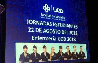 Enfermería realiza jornada de estudiantes 2018
