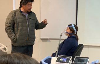 Estudiantes de Enfermería participan en taller de cuidado de pacientes con Insuficiencia Respiratoria Aguda
