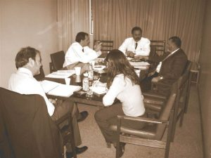 Primeras reuniones