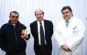 Padre Pablo Palma, Dr. Pablo Vial y Dr. Ernesto Behnke