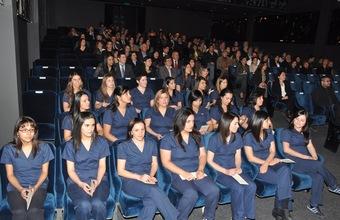 Titulación de la cuarta generación de Enfermería