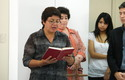 Docente Astrid Ourcelleón