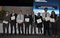 Estudiantes premiados de medicina