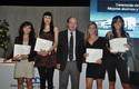 Estudiantes premiados de Tecnología Médica