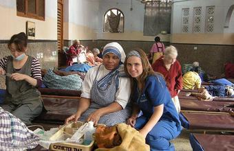 Florencia Reyes y su experiencia en la India
