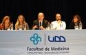 Dra. Liliana Jadua, Dr. Pablo Vial y Eugenio Guzmán