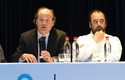 Dr. Pablo Vial y Eugenio Guzmán