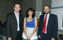 Sr. Paul O´Toole, Director Ejecutivo UDD Ventures, Dra. Paulette Conget, Directora Instituto de Ciencias y Sr. Carlos Varela, iCubo